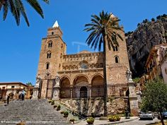 Duomo Cefalu Sicily. More lovely photos of Sicily on the site.