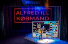 The Visit @ Aarhus Teater, Denmark // directed by Mick Gordon // set design and video by Igor Vasiljev