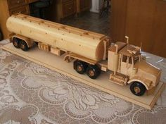 The Joys Of Wooden Toy Replicas – Wonderful Woodworking Wooden Toy Trucks, Wooden Wagon, Wooden Toys, Wooden Art, Wooden Crafts, Wood Toys Plans, Toy Rooms, Kids Wood, Wooden Puzzles