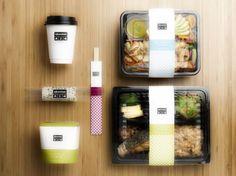 Brand packaging, food box packaging, sandwich packaging, salad packaging, f Salad Packaging, Sandwich Packaging, Food Box Packaging, Food Packaging Design, Brand Packaging, Coffee Packaging, Bottle Packaging, Design Café, Food Design
