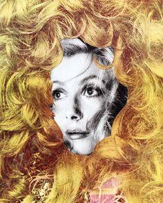HELLO ! #collagesurrealism #colageart #surrealcollageart Dada Collage, Collage Art, Surrealism, Artwork, Vintage, Work Of Art, Auguste Rodin Artwork, Artworks, Vintage Comics