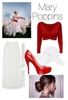"""""""Mary Poppins"""" by its-massieee ❤ liked on Polyvore featuring Alice + Olivia, Melissa Odabash and Gucci"""
