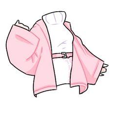 Manga Clothes, Drawing Anime Clothes, Kawaii Clothes, Dress Design Sketches, Fashion Design Drawings, Fashion Sketches, Club Outfits, Girl Outfits, Kleidung Design