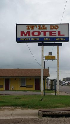 More like 'Totally Inadequate Motel'...
