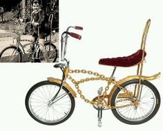 Eddie's bike from the Munsters
