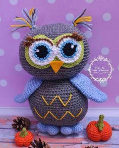 Produkty podobne do Crochet amigurumi owl Stuffed bird toy Crochet owl Crochet animal Handmade owl Handmade toy Knitted owl w Etsy Knitted Owl, Crochet Owls, Crochet Animals, Crochet For Kids, Crochet Crafts, Crochet Yarn, Crochet Projects, Owl Patterns, Amigurumi Patterns