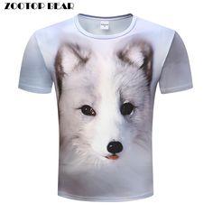 Honey Harajuku Tshirt Men T Shirt 3d Wolf T-shirt Streatwear Tee Short Sleeve Top Summer Camiseta Winter Wolf Print Dropshipzootopbear T-shirts