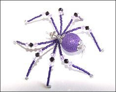 Ziggy Stardust - beaded spider - jewelry by LLanywynns on Etsy (my friend Keli, who creates beautiful things with a handful of beads!)