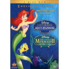 The Little Mermaid II: Return to the Sea/The Little Mermaid: Ariel's Beginning [2 Discs]