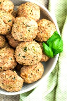 Healthy Turkey Meatballs Healthy Turkey Meatballs - The Cl. Clean Eating Results, Ground Turkey Meatballs, Couple, Healthy, Ethnic Recipes, Food, Essen, Meals, Health