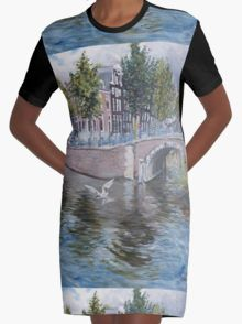 Amsterdam reguliersgracht Graphic T-Shirt Dress