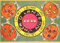 Vintage Blippee Jack-O-Lantern game. #vintage #Halloween #games #pumpkins