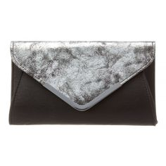 GUESS Fold Over Clutch ($39) ❤ liked on Polyvore featuring