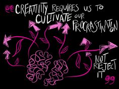 """On being """"productively proud of procrastination"""" via @DamianRentoule https://principalinterest.wordpress.com/2015/06/29/creativity-requires-us-to-cultivate-our-procrastination-not-reject-it/… #3ofme proj #creativity"""