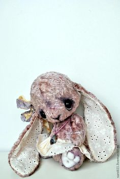 Мишки Тедди ручной работы. Ярмарка Мастеров - ручная работа Мия. Handmade.