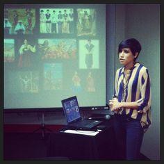 """Andrea Ozambela y su colección """"Hanmi Ray""""."""
