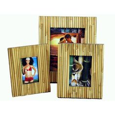 Bamboo54 Bamboo Fence Picture Frame $16.99 (Varies with options)