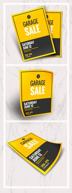 Carteles Design, Tipos Carteles, Ejemplos Carteles - Garage Sale Event Poster // It's Not Junk, It's Treasure! Get The Neighborhood Interested In Your Garage Sale With This Attractive Poster Template. Event Poster Template, Event Poster Design, Creative Poster Design, Event Flyer Templates, Creative Flyers, Poster Design Inspiration, Creative Posters, Poster Ideas, Mailer Design