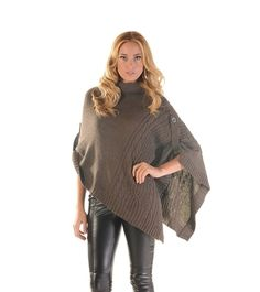 Asymmetrical Soft Cape... how could a girl not have a cape?! Particularly if its fashionable!