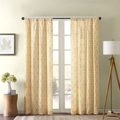 Madison Park Ella Curtain Panel - Overstock™ Shopping - Great Deals on Madison Park Curtains