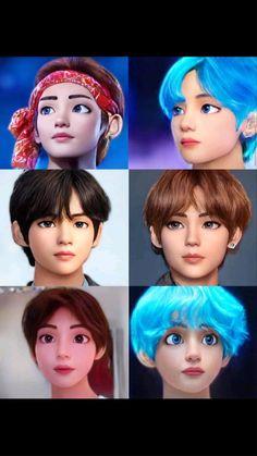 V Bts Cute, Jungkook Cute, Bts Jungkook, Namjoon, Bts Taehyung, Bts Photo, Foto Bts, K Pop, V Chibi