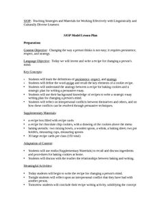 Siop unit lesson plan template sei model | Once a teacher always a ...