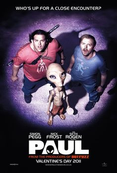 Paul - Two British comic-book geeks traveling across the U.S. encounter an alien outside Area 51.
