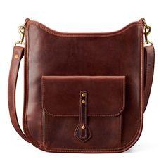Linwood Walking Bag | Brown Leather | J.W. Hulme Co.