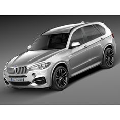 BMW X5 M-Package 2016 - 3D Model