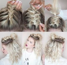 Half-Knot Braid - Messy Pinterest Braids We Love - Photos