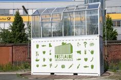 ECF Containerfarm - ECF  Efficient City Farming. I want one of these for my home & business