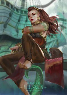 League Of Legends. Illaoi. She's grogeous ♥