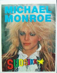 Finnish Suosikki vintage 1980s Michael Monroe/Hanoi Rocks sticker | Entertainment Memorabilia, Music Memorabilia, Other Music Memorabilia | eBay!