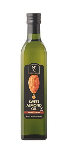 Massimo Gusto Sweet Almond Oil, 500 ML Bottle >>> Find out more details, click the image  at Dinner Ingredients board