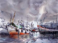 Top 10 Greatest Watercolor Artists Worldwide  - Watercolor painting is an ancient art goes back to at least the ancient Egyptian civilization where it was use... -   . Find More at: http://www.topteny.com/top-10-greatest-watercolor-artists-worldwide/