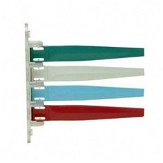 Exam room Signal, 4 Flags, Teal/Gray/Steel Blue/Burgundy by Unimed-Midwest, Inc.. $30.40. Keep clinic procedures moving smoothly by indicating the status of an exam room with these color-coded signal flags. Set up your own color-coded signals for doctors and staff. Different-colored flags can show doctor in exam room, nurse and patient preparing for doctor, or x-rays being taken. Signal flags are made of high quality, scratch-resistant plastic and plexiglass and include...