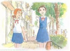 the cat returns Studio Ghibli Art, Studio Ghibli Movies, Hayao Miyazaki, Totoro, Japanese Animated Movies, The Cat Returns, Japanese Characters, Fanart, Manga Art