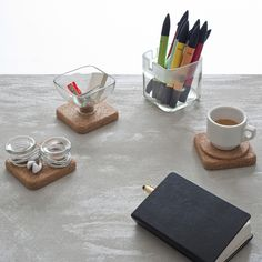 HANDY UPCYCLED DESK ACCESSORIES BY LUCIA BRUNI