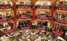 As melhores áreas de compras em Paris