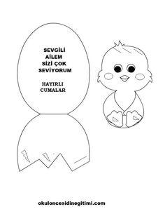 Easter Art, Stuffed Animal Patterns, Art For Kids, Preschool, Education, Paper, Crafts, Animals, Manualidades