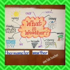 18 Ideas science activities weather anchor charts for 2019 Kindergarten Anchor Charts, Science Anchor Charts, Kindergarten Science, Elementary Science, Science Classroom, Teaching Science, Science Activities, Science Experiments, Science Education