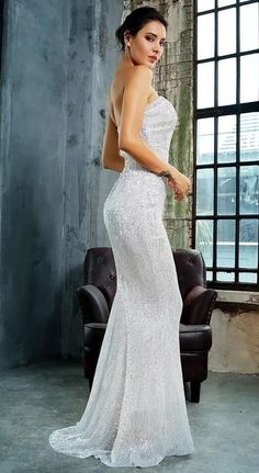 Inspires in beautifulness long formal dresses or colorized short cocktail party dresses from our collection of featured wedding guest dresses, semi-formal dresses, charmed evening gowns for military balls, as well as short casual dresses. #prom #promdresses #dresses #dress #elegantdresses Semi Formal Dresses, Elegant Dresses, Pretty Dresses, Casual Dresses, Fashion Dresses, Prom Dresses, Long Silver Sequin Dress, Evening Gowns, Balls