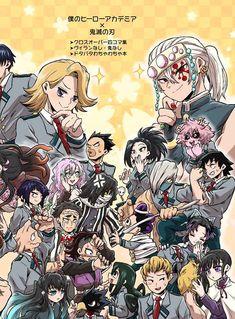 Otaku Anime, Manga Anime, Anime Crossover, My Hero Academia Manga, My Hero Academia Episodes, Bakugou And Uraraka, Slayer Meme, Hxh Characters, Girls Anime