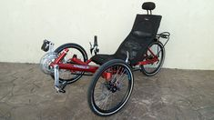 Custom HP Velotechnik Gekko FX 20 by Utah Trikes - check out all our special projects and custom builds Recumbent Bicycle, Bike, Custom Trikes, Folding Seat, Travel Tours, Bicycling, Touring, Wheels, Fishing