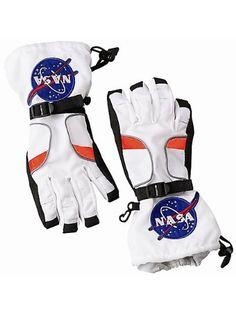 Astronaut Costume Gloves #Astronaut #Costume #Gloves