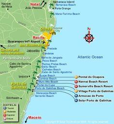 Porto de Galinhas no tiene su propio aeropuerto ya que por ser un pueblo de pescadores no es un lugar grande. Pero no se preocupen ya que hay uno muy cerca.  Hay varias opciones disponibles para llegar a Porto de Galinhas, las cuales detallaremos a lo largo de este articulo.  La ubicación de Porto de Galinhas Porto de Galinhas se ubica en el litoral norte de Brasil, a casi 70 kilómetros de distancia de Recife, la capital del estado de Pernambuco.  El aeropuerto más cerca de Porto de…