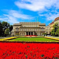 Old Court Houses - Belgrade, Serbia _____________________ Today, Old court houses the Assembly of the City of Belgrade and the cabinet of the mayor.  Formerly this was the Old Royal Courts built in style of academism between 1882 and 1884 and used by Obre