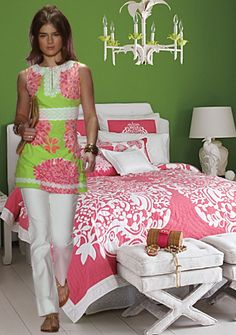 a preppy gal whose wardrobe is full of pink and green probably has an equally cheerful home. If you're after a preppy look in your digs, there are at least eight specific staples, most inspired by fashion, that you'll need to get started with. Come find out what they are!