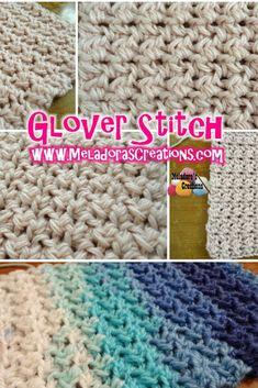 Glover Stitch – Free Crochet Pattern & video tutorials - By Meladora's Creations