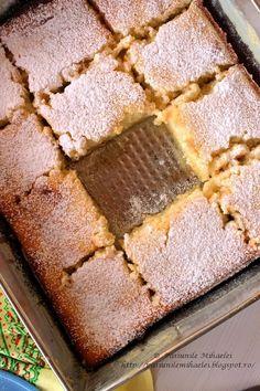 Pasiunile Mihaelei: Prajitura cremoasa cu lamaie / Lemon pudding cake